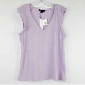 Sanctuary Womens Tee S Lily Flutter Sleeve NEW